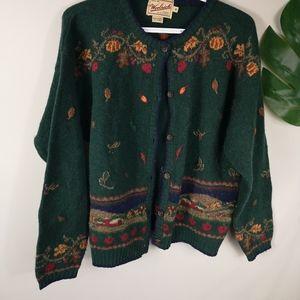 Vintage Woolrich wool Cardigan